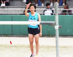 H共通女子走り高跳び・長田彩